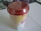 杯装奶茶收缩效果